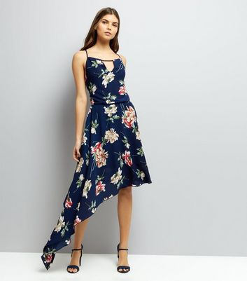 Cameo Rose Navy Floral Print Dress