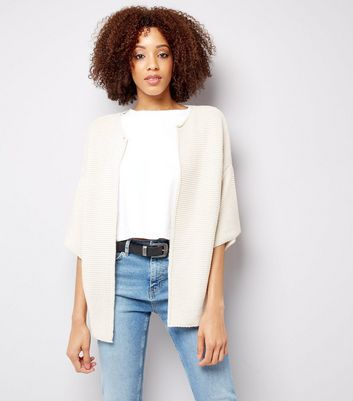 Mela Cream Knitted Cardigan