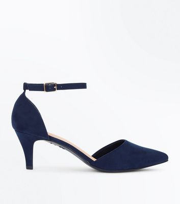 Women's Blue Shoes | Blue & Navy Heels & Pumps | New Look