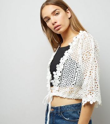 QED Cream Lace  Cover Up