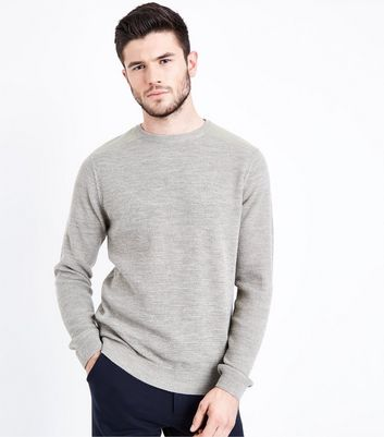 Stone Textured Knit Jumper