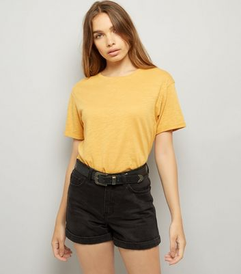 Yellow Organic Cotton T-Shirt