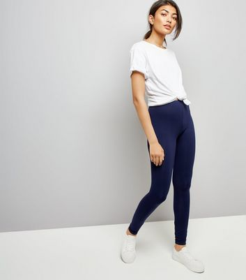 2 Pack Navy And Black Leggings