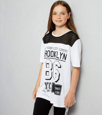 Teens White Brooklyn T-Shirt