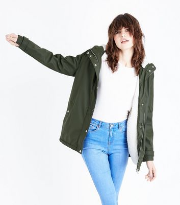 Green Jackets | Khaki & Lime Coats & Outerwear | New Look