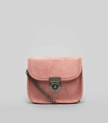 Pink Mini Cross Body Bag
