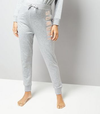 Maternity Grey Sunday Joggers