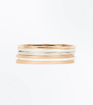 6 Pack Metallic Bangles