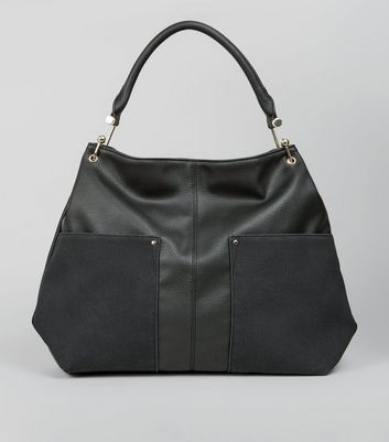 Black Gold Hook Tote Bag