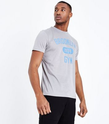 Grey Brooklyn Gym T-Shirt