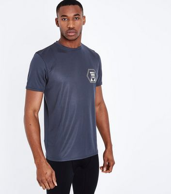 Navy Brooklyn Running Club Sports T-Shirt