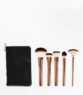 5 Pack Contour & Highlight Brush Set