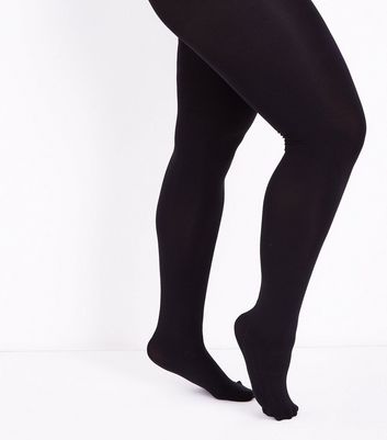 Curves Black 200 Denier Tights