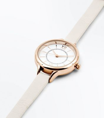 Rose Gold Mini Dial Watch