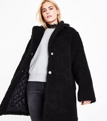 Image result for newlook teddy coat