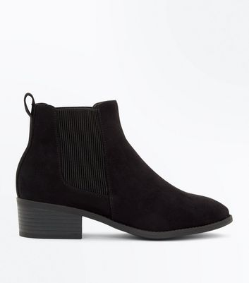 Bottines Chelsea ado noires