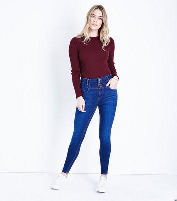 Womens high waist jeans high waist black jeans new look blue high waist skinny yazmin jeans publicscrutiny Gallery