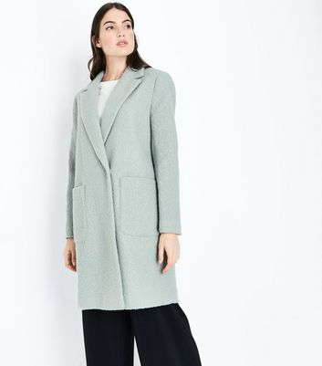 Olive Green Cocoon Coat