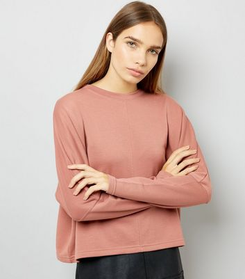 Light Brown Batwing Sleeve Sweater