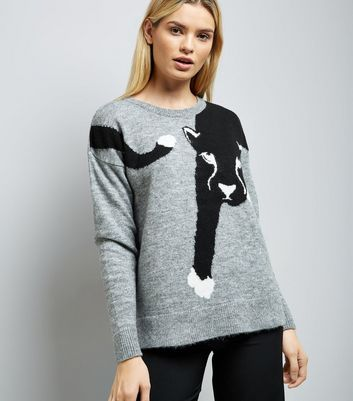 Pale Grey Panther Jumper