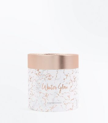 Rose Gold Winter Scented Candle
