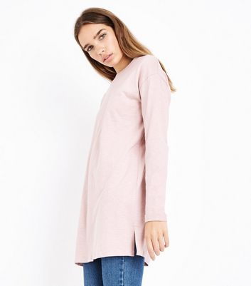 Pink Organic Cotton Tunic Top