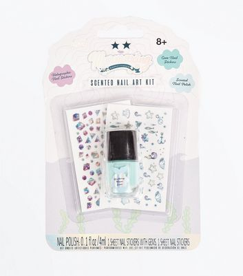 Mermaid Scented Nail Art Set