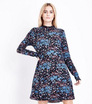 Femmes Robe Swing Jersey Floral Nouveau Look AI4iMLl