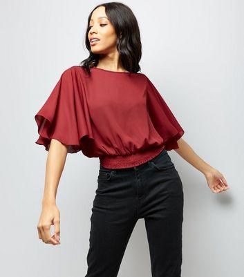 Red Tops Burgundy Scarlet Amp More New Look