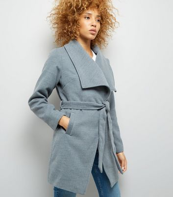 Parisian Grey Wrap Jacket