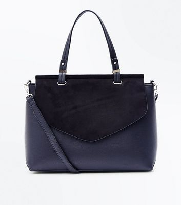 Black Top Handle Satchel