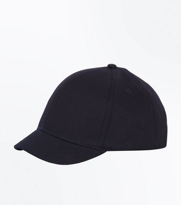 Black Small Peak Cap