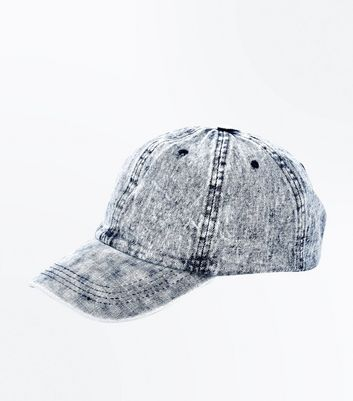 Blue Washed Denim Cap