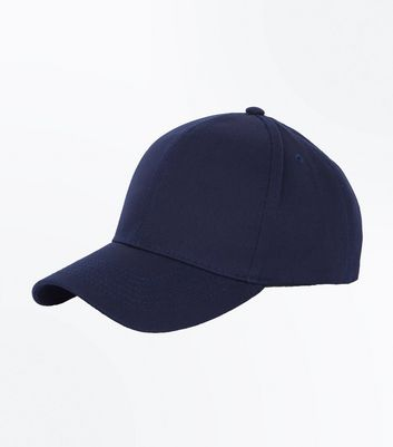 Navy Cotton Cap