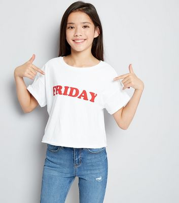 Teen Friday Slogan T-Shirt