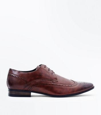 Dark Brown Lace Up Brogues