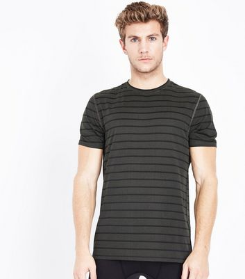 Black Stripe Sports T-Shirt