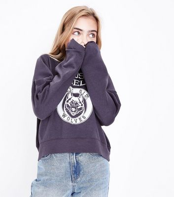Teens Grey Los Angeles Sweater