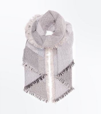 Mink Boucle Scarf
