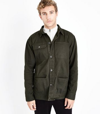 Khaki Worker Jacket