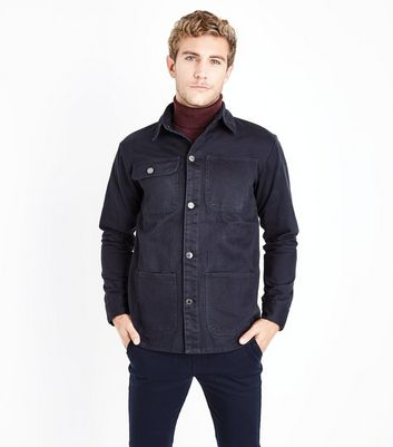 Navy Worker Jacket