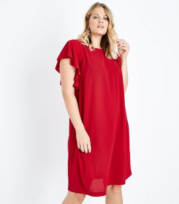 Curves Angel Sleeve Tunic Dress