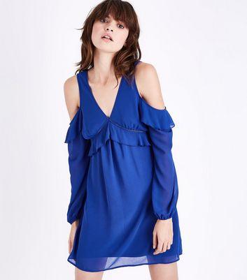 Electric Blue Dress