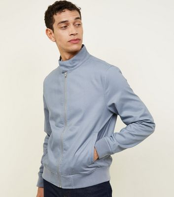 Pale Blue Harrington Jacket