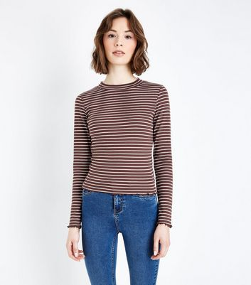 Sale Sast Cost Online Womens Boxy Stripe Bell Sleeve T - Shirt New Look Fake Outlet Genuine Cheap Outlet Store AlbTJ