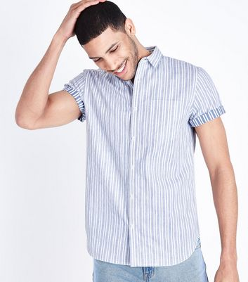 Pale Blue Stripe Shirt