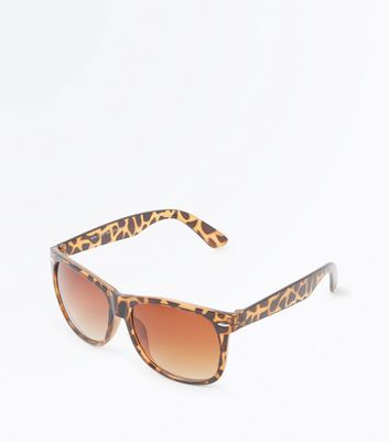 Dark Brown Tortoiseshell Oval Sunglasses