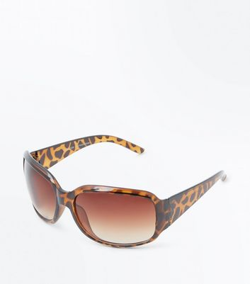 Dark Brown Tortoiseshell Sunglasses