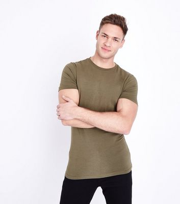 Khaki Ultra Muscle Fit T-Shirt