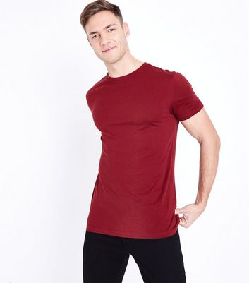 Rust Short Sleeve Muscle Fit T-Shirt